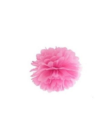 Pompón -ružový 35cm