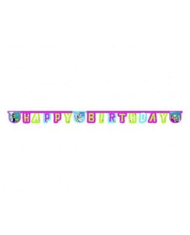 Banner Frozen - Happy Birthday 2,15m