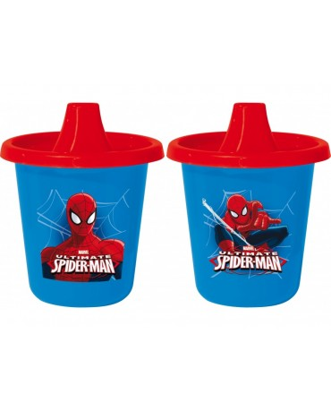 Cest. plast. hrnčeky Spiderman