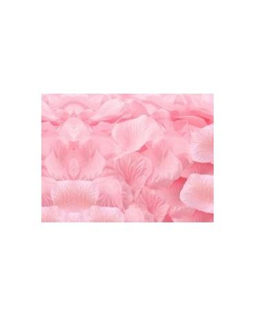 Dek. lupene ruží - bledoružové 100ks