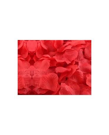 Dek. lupene ruží - červené 100ks