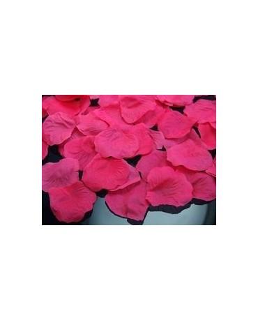 Dek. lupene ruží - ružové 100ks