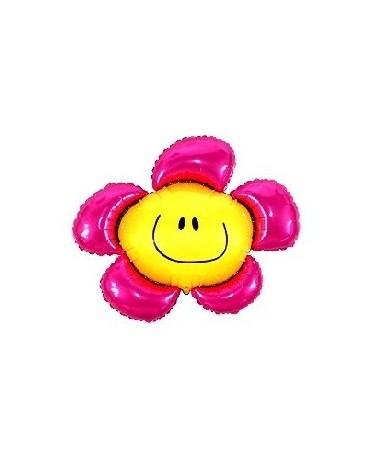 """Fól. balón Kvet - ružový 14"""""""