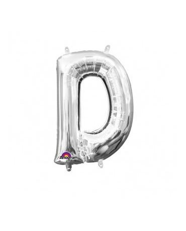 Fól. balón - strieborné D 22x33cm