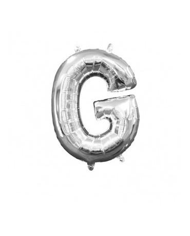 Fól. balón - strieborné G 22x33cm