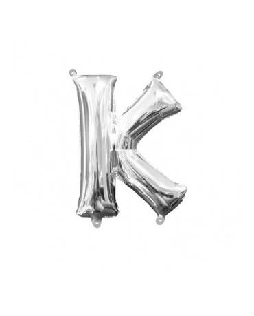 Fól. balón - strieborné K 25x33cm