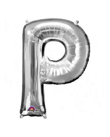 Fól. balón - strieborné P 22x33cm
