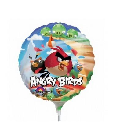 "Fól. balón Angry Birds 9"""