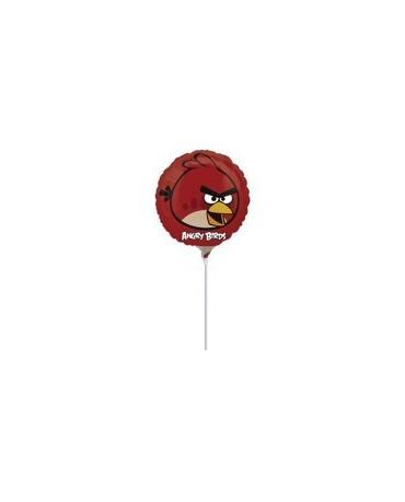Fól. balón Angry Birds- červený 23cm