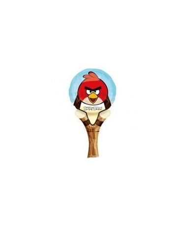 Fól. balón Angry Birds na praku 15,5x31cm