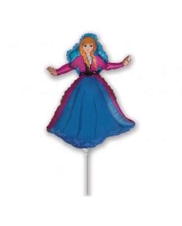 """Fól. balón Anna- Frozen 14"""""""