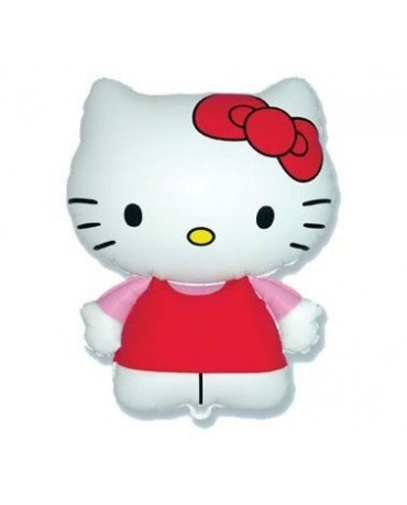 Fól. balón Hello Kitty 14""