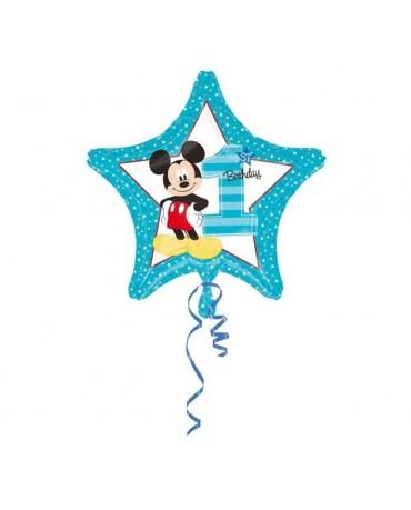 """Fól. balón Mickey č.1. 18"""""""