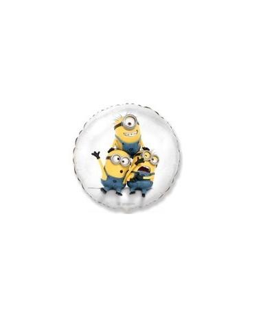 "Fól. balón Mimoni - biely 18"""