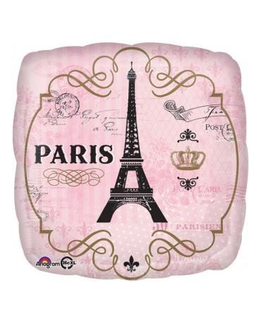Fól. balón Paris 43cm