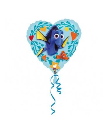 Fól. balón srdce - Dory 43cm