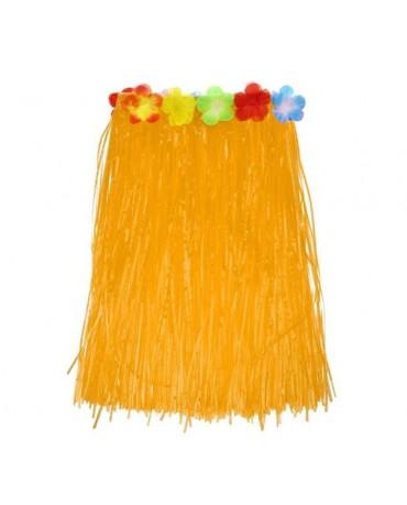 Hav. sukňa - oranžová- veľ. M