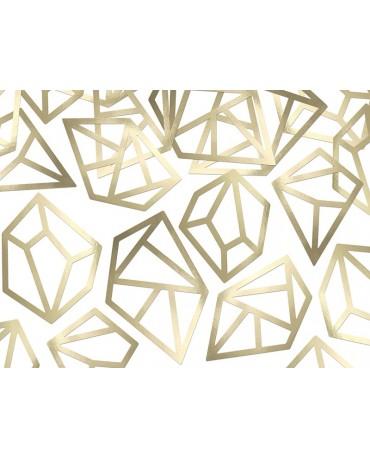 Konfety - zlaté kryštály 5ks