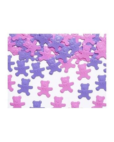Konfety -ružové medvede 15g