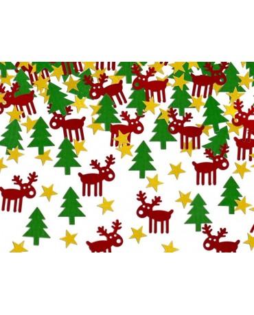 Konfety Rudolf - mix farieb 7g