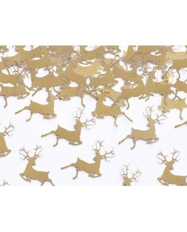 Konfety Rudolf - zlaté 20ks