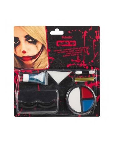 Make-up - smutný klaun