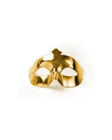 Maska Ben. karneval -zlatá