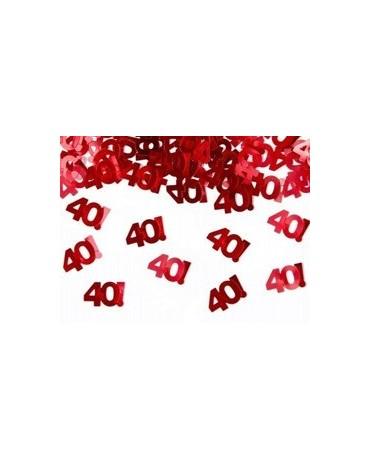 Konfety č. 40 - červené 15 g