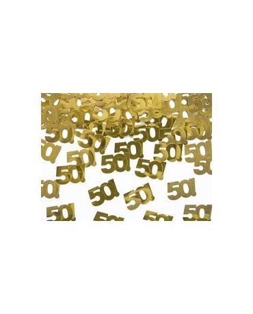 Konfety č.50 - zlaté 15 g