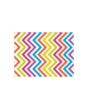Obrus fareb. vlnky 274x137cm