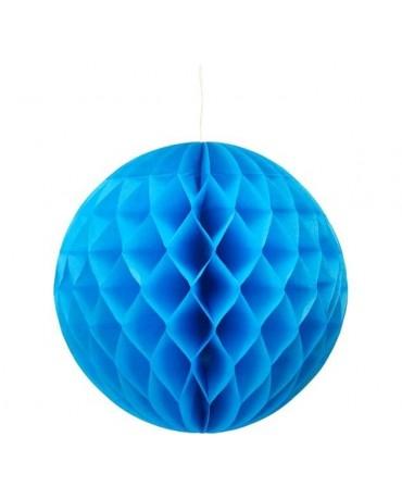 Dekor. guľa- modrá 30cm