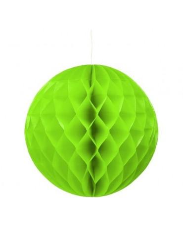 Dekor. guľa- zelená 30cm