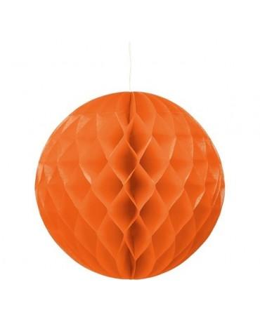 Dekor. guľa- oranžová30cm