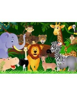 Zvieratká v džungli